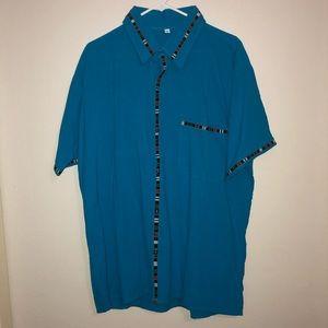 Guatemalan traditional design short sleeved shirt